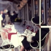 Frau im Cafe Kranzler, 1964 (207945)