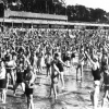Gymnastik am Strandbad Wannsee, 1935 (210080)