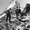 Bergsteiger in der Schweiz