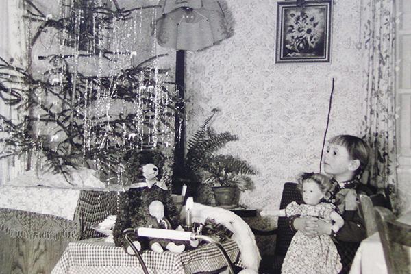 Weihnachten, 1954