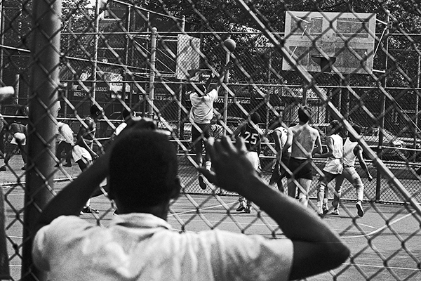 Basketball in Manhattan, 1967