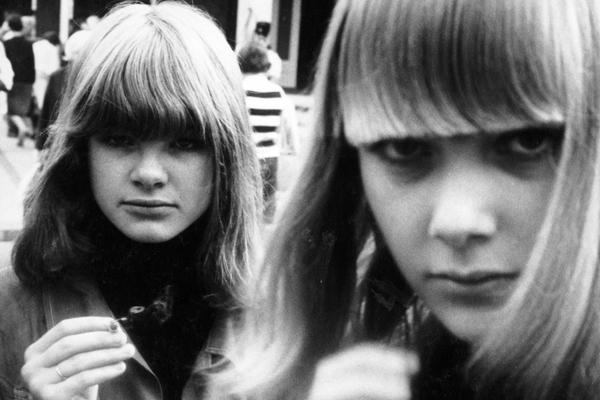 Jugendliche in Kopenhagen, 1965