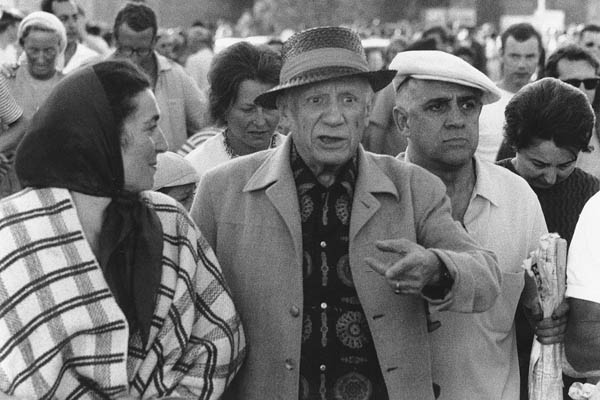 Pablo Picasso in Fréjus, 1966