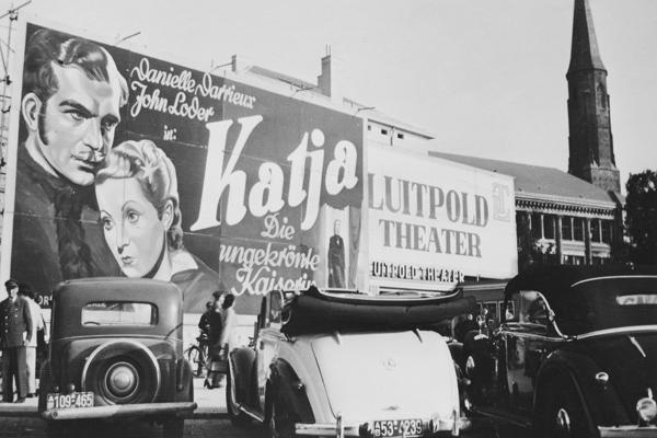Luitpold-Theater in München, um 1950