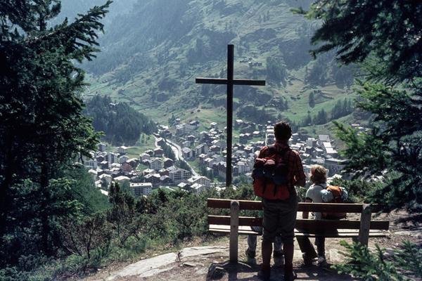 Blick auf Zermatt, 1975