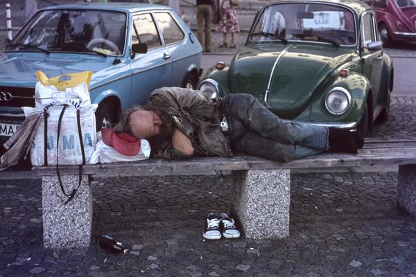 Obachlosigkeit in München, 1978