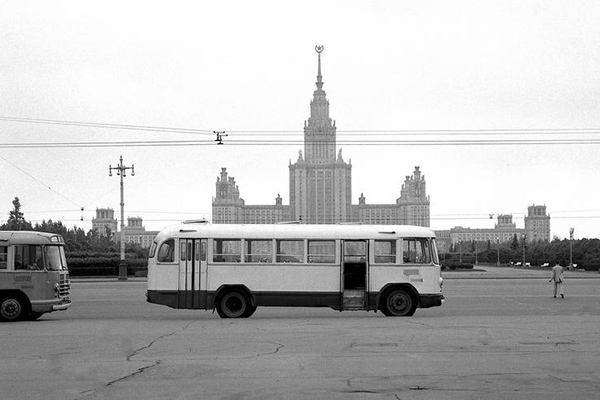 Busse und die Lomonossow-Universität in Moskau, 1967