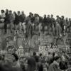 Menschen auf der Mauerkrone, 1989 (192006)