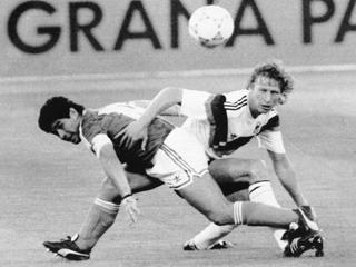 Finalspiels Deutschland gegen Argentien