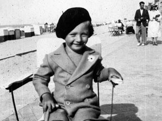 Nr. 191093_Kind mit Baskenmütze