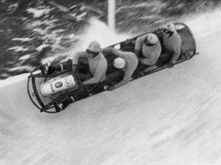 Bob Italien I bei den Olympischen Winterspielen Garmisch Partenkirchen, 1936