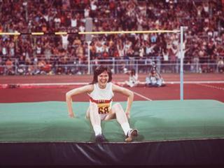 Ulrike Meyfarth, Olympische Spiele, München, 1972