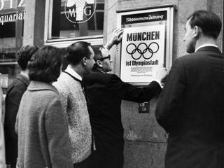 München Erhalt den Zuschlag für Olympia, 1972