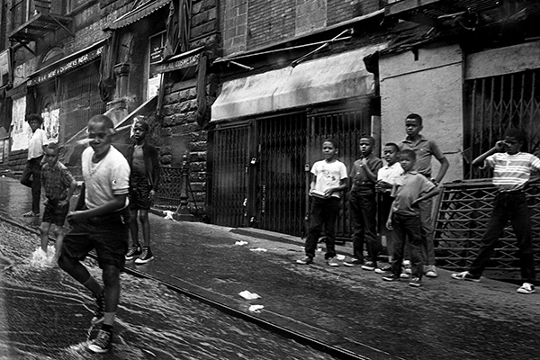 Kinder in Harlem, 1967