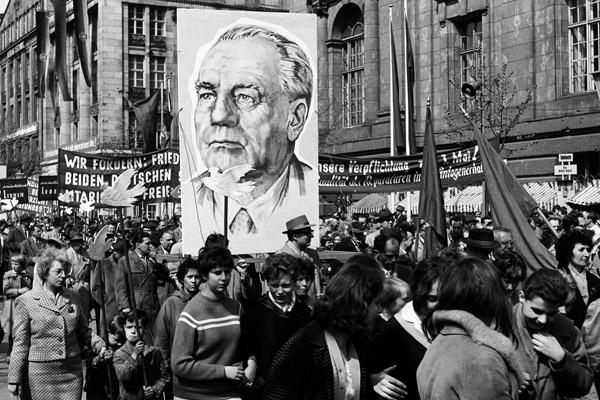 Maidemonstration in Ost-Berlin, 1960