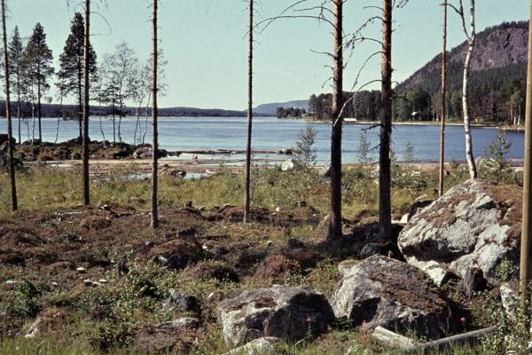 Der Fluss Indalsälv bei Stugun.