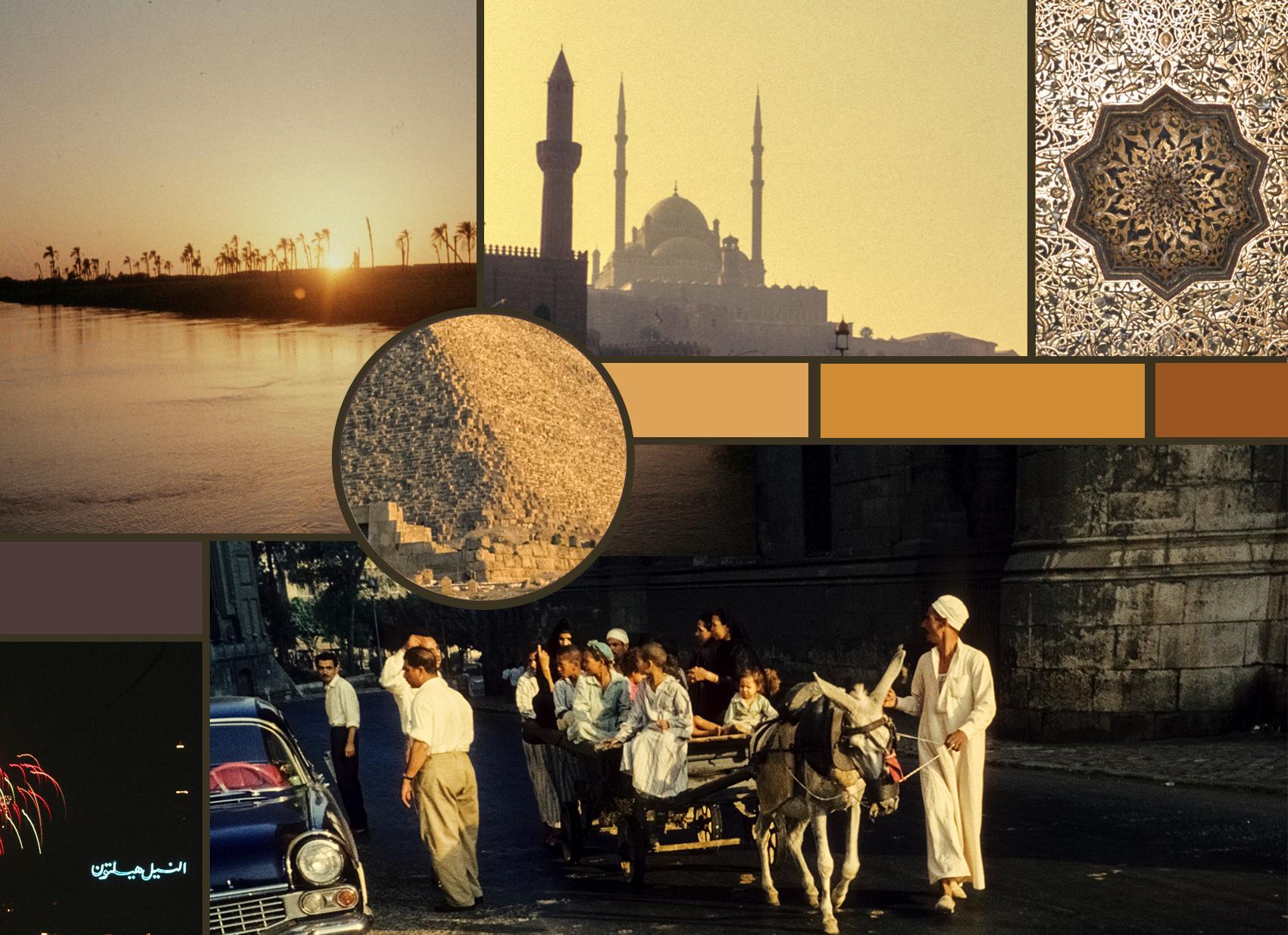 """Moodboard """"Kairo"""" © Aldiami, Czychowski"""