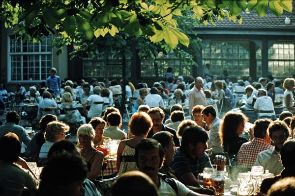 Sommer im Biergarten am Nockherberg