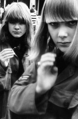 Jugendliche mit Parka in Kopenhagen.