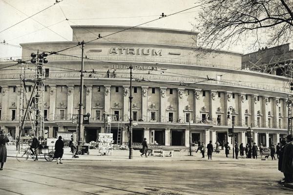 Neubau des Atrium Beba Palastes in Berlin-Wilmersdforf. , 01.01.1927-31.12.1927
