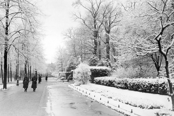 Winteransichten, Berlin - Historisch, Deutschland,